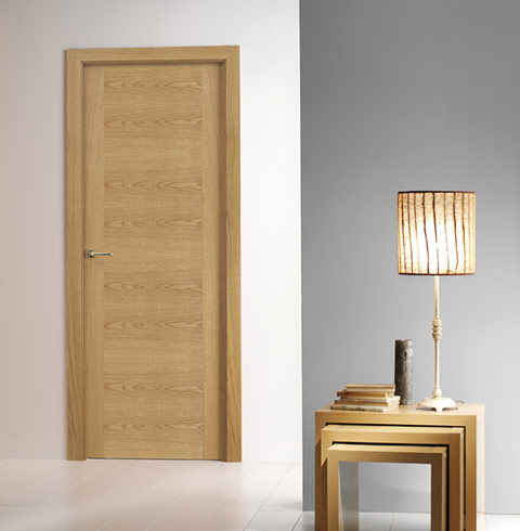 Puertas interior madera